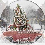 Republic 100.3 Radio > December Tracks