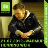 21.07.12 Warmup - Henning Weik