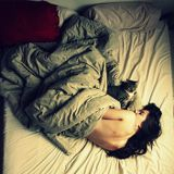 In Bed With Cat