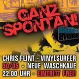 Ganz spontan mit Chris Flint und Vinylsurfer