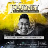 Journey - 73 guest mix by Soulhunter ( Sri Lanka ) on Cosmos Radio - Germany [11.07.18]