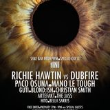 Richie Hawtin vs Dubfire - Live @ Enter.Main Week 10, Space (Ibiza) - 04.09.2014