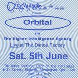 Orbital live @ oscillate, Birmingham 1993