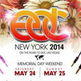 Calvin Harris - Live @ Electric Daisy Carnival (EDC New York) - 25.05.2014