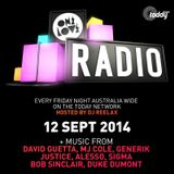 ONELOVE RADIO 12 SEP 2014