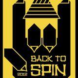DJ 談話頭 @ Back To Spin 2012