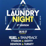 Laundry Night 9th Edition Promomix - Denition B2B Turnity