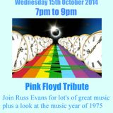 Back to the 60's & 70's with Russ Evans Pink Floyd tribute