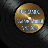 Live Sets- Minimal Vol.1.2013