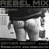 Rebel Mix #111 - w host Esther Benoit - Feb22.2014