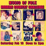 Music of Folk 2/16/19 hour one