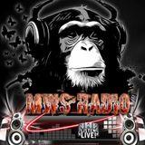 set from MWS radio station