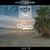 Transmissions @ Pepper 96.6 (June '18) by DJ Snatch