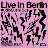 Audio Sushi DJs / DJ Disastronaut Live in Berlin 08.06.18 - Electronica Latin Techno Experiment