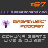 Babamusic Radio #67 presents Cohuna Beatz Live & DJ Set