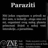 Znanost na eteru - Paraziti - 19.5.2017.