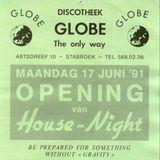 Resident DJ Team at Globe (Stabroek - Belgium) - November 1991