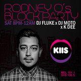 KIIS FM Rodney O's block party - Dj Fluke 17/09/16