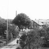 Besök på Orrefors glasbruk 1936