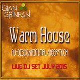 Warm House Live Set July 2015