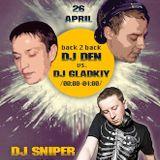 DJ Gladkiy & DJ Den back2back @ DaFreakClub