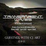 CJ Art - Transparent Waves 009 Guest Mix [09.12.2013] @ TM Radio