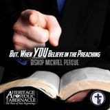7-2-17 When YOU believe the preaching - Bishop Perdue