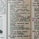 Rivaldafény. Válogatás az 1986.01.21-i Napközben zenei kínálatából. Szerkesztő: Csermely Zsuzsa.