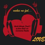 """""""Wow Whats That? /  Feel Love"""" 07 radio show by eLBee BaD"""