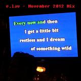 e.lav - Take it back (November 2012 Mix)