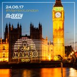 Adam Scavo & Francesca Rose at Cafe Mambo Ibiza's London Summer Party (24.06.2017)
