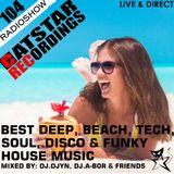 CATSTAR RECORDINGS RADIO SHOW 104