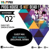 Tint Mix - Prog House Is Not Dead! Vol 1 - Ep 2 feat Beat Maniacs (Serbia/Balkan Connection)