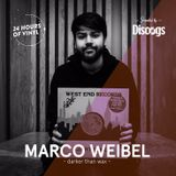 24 Hours of Vinyl (NY) - MARCO WEIBEL (Presented by Discogs)