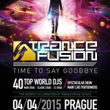Beat Service b2b Mark Sixma - Live @ Trancefusion, Time To Say Goodbye (Prague) - 04.04.2015