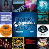 DEEPINSIDE RADIO SHOW 120 (Joey Negro Artist of the week)
