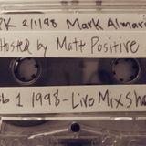 Mark Almaria Live On WHPK (Feb 1, 1998) - hosted by Matt Positive