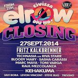 Toni Varga - Live At Elrow Closing Party, Space (Ibiza) - 27 sep 2014