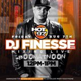 Hot 97 Boom At Noon - Dj Finesse NYC 08-07-15