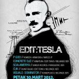 P.God @ KC Grad (Edit:Tehno, Beograd) 30.03.2012 _ Cut