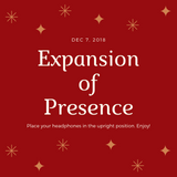 Expansion of Presence Dec 7, 2018