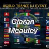 WORLD TRANCE DJ EVENT 2017           CIARAN McAULEY