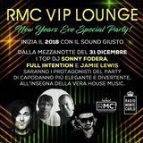 RMC VIP LOUNGE NYE SPECIAL PARTY - JAMIE LEWIS