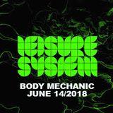 Body Mechanic - Red Bull Radio - Leisure Systems 061418