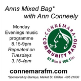 Connemara Community Radio - 'Anns Mixed Bag' with Ann Conneely - 4dec2017