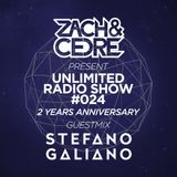 Unlimited Radio Show #024 [Stefano Galiano Guestmix]