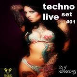 Techno Live Set #01 2015
