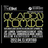 Mladen Tomic - Live @ Club Vertigo, Gyor, Hungary, 13.04.2012.