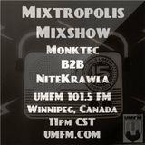 UMFM Radio Show Monktec B2B Nitekrawla 4 3 15