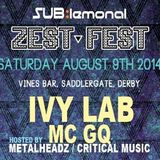 Zest Fest DJ Set [LIVE MIX] - 09/08/14
